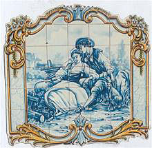 Tile Murals - Renaissance and Medieval